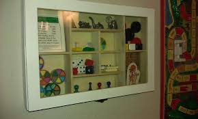 Game Board Piece Shadow Box