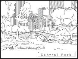 Christmas In New York City Coloring Pages Oloring For All