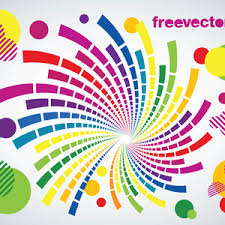 Background Artistic Backdrop Colored Circles Colorful Ornaments Copy Space Illustration Curve Design Disco Or House Music Flyer Party Poster
