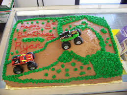 100 Truck Birthday Cakes Monster Cake A 12 Sheet Chocolate Cake Cov Flickr