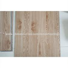 China Commercial Vinyl Sheet Flooring With Click PVC Interlocking Wood Floor Tile