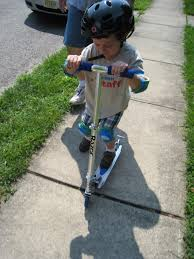 Razor Scooter Has A Great Line Of Products For Kids All Ages And Heights Little Man Is Learning How To Ride His Bike But Now Nothing Beats The