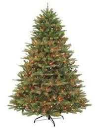 Kensington 7 1 2 Ft Lifelike Christmas Tree Pre Lit 1200 Multi Colored Lights Puleo