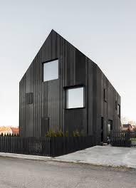 100 Villa House Design A Modern In Sweden Clad In Blackened Wood Milk
