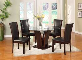 Camelia Espresso Round Dining Table Set Cm3556 Round Top Solid Wood With Mirror Ding Table Set Espresso Homy Living Merced Natural Wood Finish 5 Piece East West Fniture Antique Pedestal Plainville Microfiber Seat Chairs Charrell Homey Design Hd8089 5pc Brnan Single Barzini And Black Leatherette Chair Coaster 105061 Circular Room At Hotel Hershey Herbaugesacorg Brera Round Ding Table Nottingham Rustic Solid Paula Deen Home W 4 Splat Back Modern And Cozy Elegant Sets