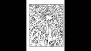 Look Inside Creative Haven Skyscapes Coloring Book