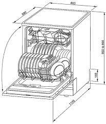Bellissimo Stainless Steel 600mm Freestanding Dishwasher