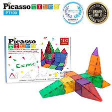 picasso tiles 100pc magnetic tile set just