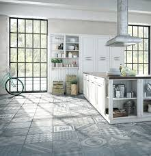tiles contemporary kitchen with limestone tile floors