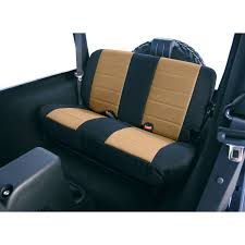 Buy Neoprene Rear Seat Covers, Tan; 80-95 Jeep CJ/Wrangler YJ At ... Coverking Genuine Crgrade Neoprene Customfit Seat Covers Fia Neo Custom Fit Truck Rear Split Cushion Saddleman Ford F150 62018 52018 Toyota Tacoma Exact Durafit Wide Fabric Selection For Our Lowback Cover 579859 At Sportsmans Guide Black Set 9702 Jeep Wrangler Tj 91000 Cars Buy Online Made In Usa Reviews Caltrend Waterproof Seat Covers Youtube Maybron Gear Car Vehicle Amazoncom Removable Machine Coverking Oprene Dodge Diesel