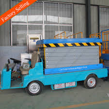 100 Scissor Lift Truck Outdoor Electric Man Price S For Sale