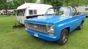 100 Convertible Chevy Truck Vanfest 2012 1976 Blazer YouTube