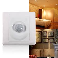 energy saving infrared ir motion sensor wall light indoor