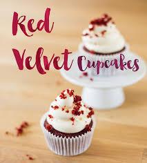 Die Besten Red Velvet Cupcakes Mit Cream Cheese