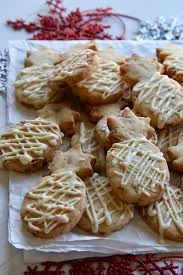 Decorated Shortbread Cookies by Island Macadamia Peppermint Bark Shortbread Cookies Are An Easy