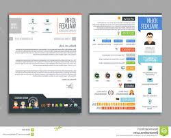 100 Resume Two Pages Stock Illustration Cv Template Job Candidate Work