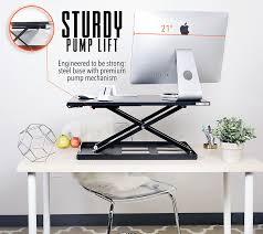 Office Depot Standing Desk Converter by Amazon Com Standing Desk X Elite Stand Steady Standing Desk