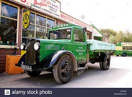 Pre-war 1930s Commercial Bedford W-Series 2-Ton Truck Outside Stock ...