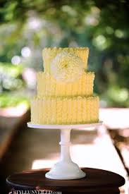 Beautiful Cake Cute Little Yellow Swirl Icing Cake Birthday Cake Wedding Cakes Yellow Cakes