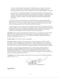 Circular A129 Transmittal Letter The White House