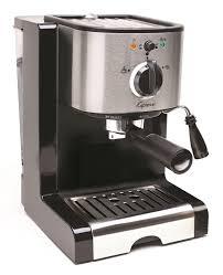 Amazon Capresso 11604 Pump Espresso And Cappuccino Machine EC100 Black Stainless Semi Automatic Machines Kitchen Dining