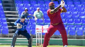 Rakheem Cornwall Cricket West Indies Vs England Wi