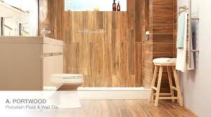 wood grain ceramic tile bathroom ideas and trends at the home