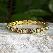 Rustic Cuff 4th Of July Angeline In Gold SALE