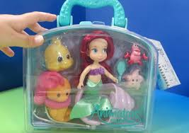Disney Little Mermaid Bathroom Accessories by Ariel Disney Animators U0027 Collection Flounder Seahorse Set Unboxing