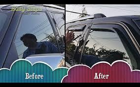 How To Install Window Visor | Rain Guard On Lincoln Navigator | In ... Photo Gallery 0713 Chevy Silveradogmc Sierra Avs Smoke Egr Rain Guards Inchannel Vent Visors 19992016 Ford F2550 Super Crew Side Window Deflector Guard 2018 Hyundai Kona Free Shipping Shop Vs Stickon Black Horse Off Road 140512 Carvamcom Tapeon Outsidemount Shades Wind Weathershields Fit Toyota Hilux 0515 4 Doors Sr5 Weather Shields Visor Ranger Mk1 Mk2 1118 China Exterior Accsories Door For 2015 Revo Whosale Pvc Car Rear View Mirror Sticker Eyebrow 140810 Offroad Pcs Ebay
