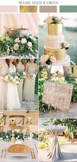 Rustic Elegance Wedding Blush Pink And Gold Color Inspiration