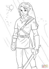 Click The Link From Legend Of Zelda Coloring Pages