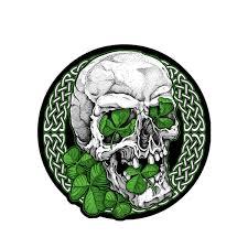Hot Leathers Irish Skull Patch Tattoo Ideas Pinterest Tattoos