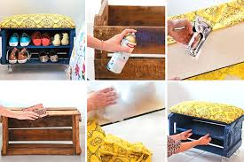 FabArtDIY Wood Wine Crate Ideas And Projects