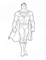 Superman Coloring Pages To Print