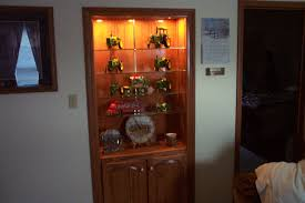display cabinet with lighting imanisr