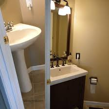 Kohler Tresham Sink Specs by Incredible Bathroom Renovation Our Process And The Look With Kohler