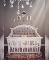 Bedroom Charming Baby Cache Cribs With Curtain Panels And by Gorgeous One Of A Kind Custom Tufted Convertible Crib With