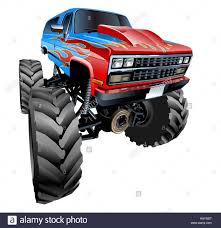 Cartoon Monster Truck Stock Photo: 127224783 - Alamy Monster Truck Clip Art Clipart Images Clipartimagecom Cartoon Royalty Free Vector Image 4x4 Buy Stock Cartoons Royaltyfree Monster Truck Available Eps10 Vector Format With Illustrations Creative Market Red