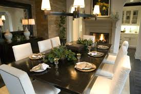 Dark Wood Living Room Furniture Dining Table Sets Floor Simple Flower Centerpieces Round