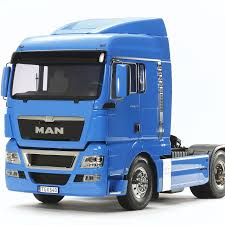 100 4x2 Truck Rc Man Tgx 18540 4X2 Xlx French Blue Edition Tamiya USA