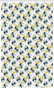 abakuhaus duschvorhang badezimmer deko set aus stoff mit haken breite 120 cm höhe 180 cm bienenkönigin stil kaufen otto