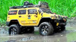 100 4x4 Rc Mud Trucks RC OFF Road EXTREME Scale In MUD Hummer H2 Vs Land
