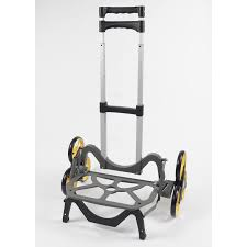 Shop UpCart 100-lb Black Aluminum Stair Climbing Hand Truck At Lowes.com