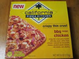 Frozen Friday California Pizza Kitchen BBQ Chicken Crispy Thin