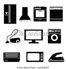 Kitchen Appliances Clipart Birds Eye