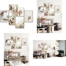 myestado premium poster set bilder wohnzimmer modern