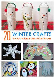 20 Winter Crafts For Preschoolers