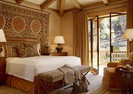 Traditional Eclectic Master Bedroom Ideas With Unique Wall