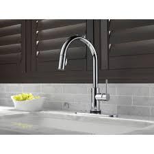 Delta Touch Faucet Replacement Solenoid by Delta Faucet 9159t Bl Dst Trinsic Matte Black Pullout Spray